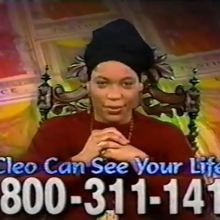"God Tells Miss Cleo, ""Call Me Now!"""