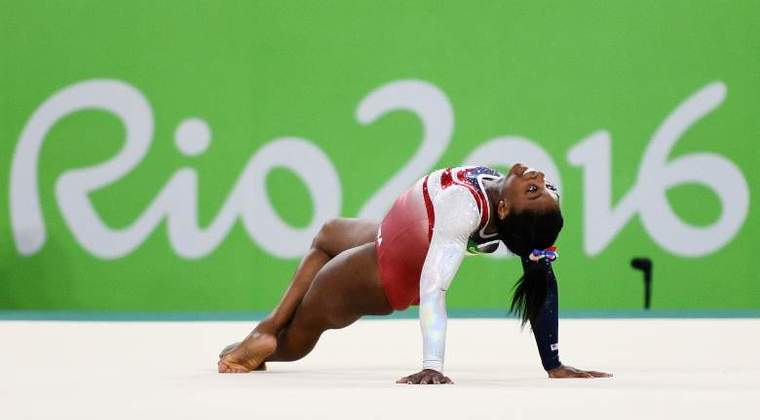 Simone Biles finishes Rio Olympics with 5th medal