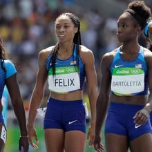Team USA's Women's 4x100 gets second chance to qualify for Finals
