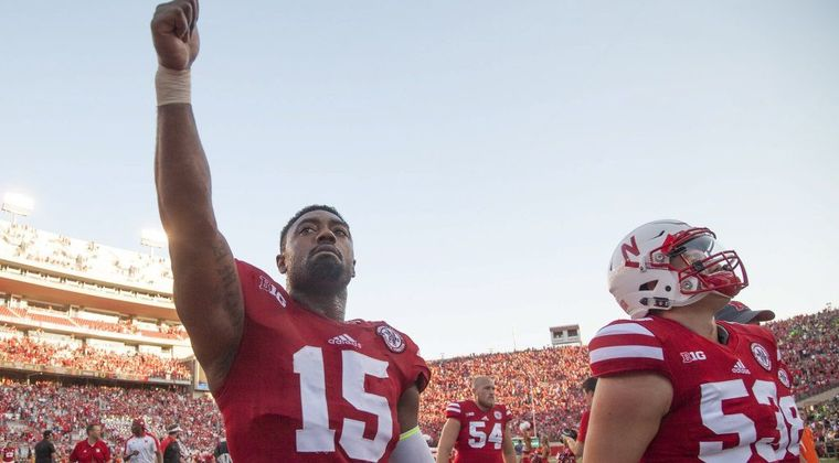 Nebraska's Michael Rose-Ivey Speaks Up