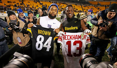 Versus: Antonio Brown vs Odell Beckham Jr.