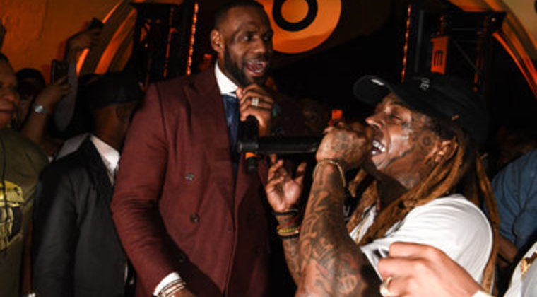 LeBron James And The Hot Boys Make Hip Hop History