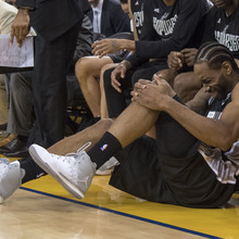 Spurs' Kawhi Leonard Out For Game 3 Of The Western Conference Finals