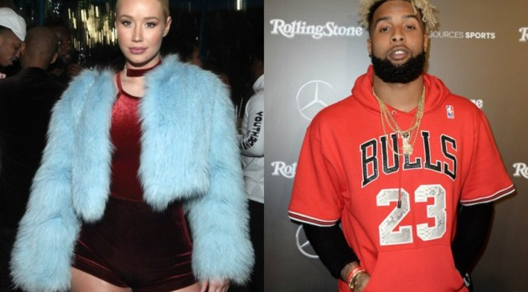 Odell Beckham Jr. Blows Off Practice To Hang With Iggy